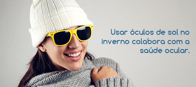 760d92df47a3b Conheça 5 motivos para utilizar óculos de sol no inverno   High ...